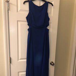 Royal blue Ralph Lauren formal dress